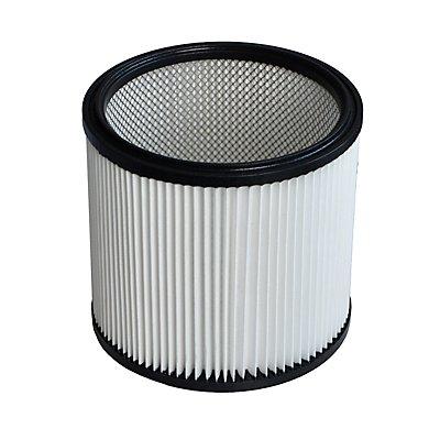 starmix Faltenfilter-Patrone - mit ca. 3600 cm² Polyester-Filterfläche - für Profi-Powersauger