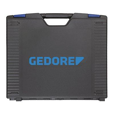 GEDORE Werkzeugkoffer TOURING - mit Schaumeinlage - 49-teilig