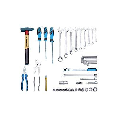 GEDORE Assortiment d'outils universels - convient aussi pour caisse à outils - 41 éléments