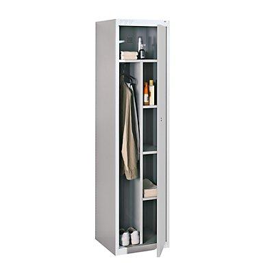 QUIPO Stahlspind, für Vorhängeschloss - 1 Abteil, Breite 450 mm