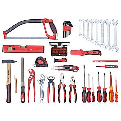 Kit d'outils universels - 70 éléments - sans sac multi-fonctions