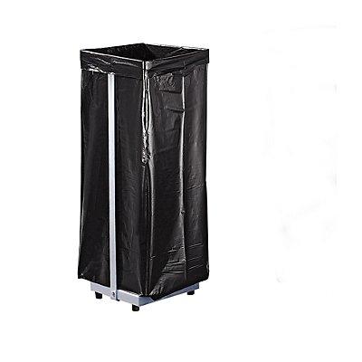Support sacs-poubelle - pour 1 sac de 120 l, fixe - h x l x p 940 x 370 x 330 mm