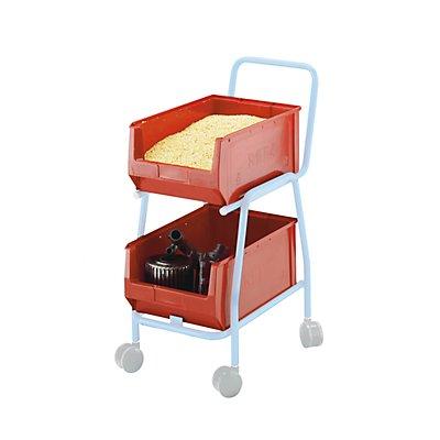 Sichtlagerkasten, für Beistellwagen LxBxH 500/450 x 310 x 200 mm