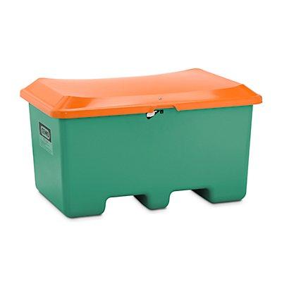 CEMO Streugut-Kasten aus GfK - Volumen 400 Liter, unterfahrbar