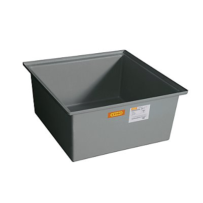 CEMO Cuve de rétention - 1 fût de 200 litres, modèle non homologué