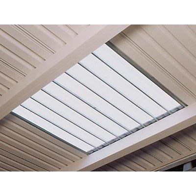 Mehrpreis für Dachlichtband - einschalig