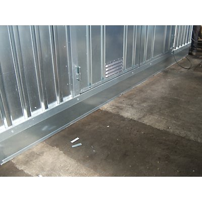 Mehrpreis Wannenisolierung, für Außen-BxT 4075 x 2875 mm, zu Thermo-Container