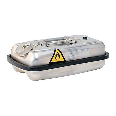 Asecos Labor-Edelstahl-Kanister - mit Schraubdeckel