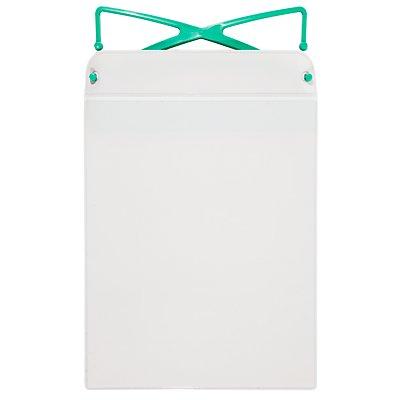 Einstecktasche, magnetisch - mit Haken und Magnetstreifen, für Papierformat DIN A5