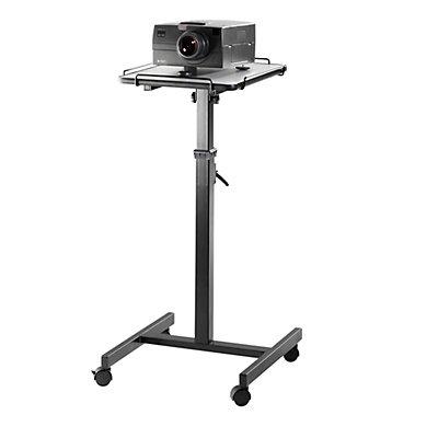 Smit Visual Beamerwagen - Höhenverstellbereich 800 – 1250 mm - Maße Geräteplatte BxT 400 x 500 mm