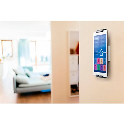 DURABLE Tablethalter - Wandhalter HOLDER WALL - für Tablet-Größen von 7-13″