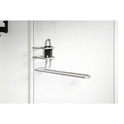 CP Porte-serviettes et gel-douche - pour largeur 400 mm - 0,30 kg