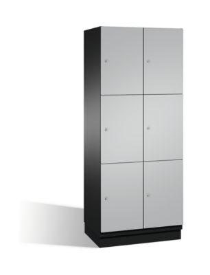 cp  CP Armoire à casiers CAMBIO avec portes en acier - 6 casiers, largeur... par LeGuide.com Publicité