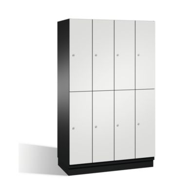 cp  CP Armoire à casiers CAMBIO avec portes en HPL et tringle - 8 casiers... par LeGuide.com Publicité