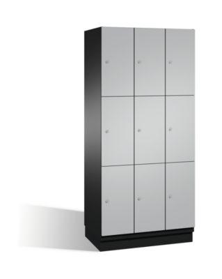 cp  CP Armoire à casiers CAMBIO avec portes en acier - 9 casiers, largeur... par LeGuide.com Publicité