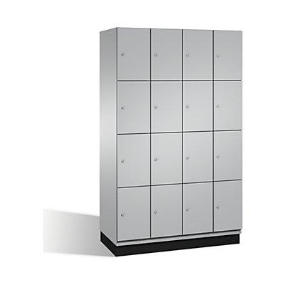CP CAMBIO Fächerschrank mit Stahl-Türen - 16 Fächer, Breite 1200 mm