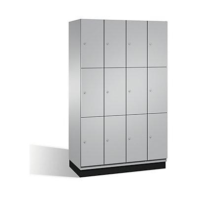 CP CAMBIO Fächerschrank mit Stahl-Türen - 12 Fächer, Breite 1200 mm