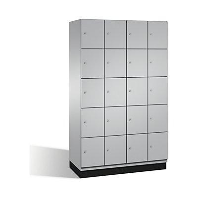 CP CAMBIO Fächerschrank mit Stahl-Türen - 20 Fächer, Breite 1200 mm