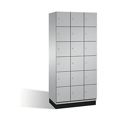CP CAMBIO Fächerschrank mit Stahl-Türen - 18 Fächer, Breite 900 mm