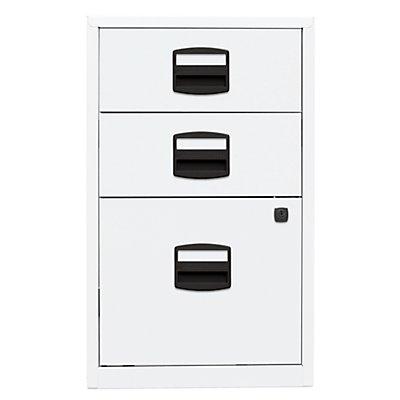 Bisley Home Beistellschrank PFA - 2 Schubladen, 1 Hängeregistratur