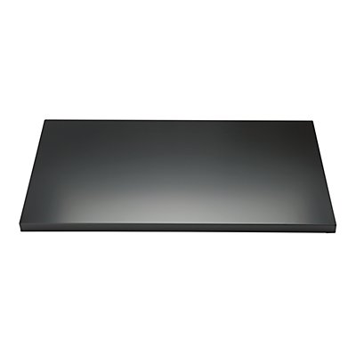 BISLEY Fachboden mit Lateralhängevorrichtung, für Breite 800 mm schwarz