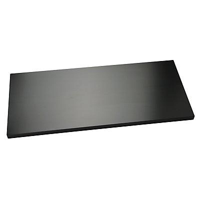 BISLEY Fachboden mit Lateralhängevorrichtung, für Breite 1000 mm schwarz