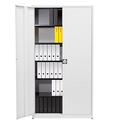 mauser Universalschrank, extrahoch - HxBxT 2200 x 1200 x 420 mm