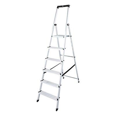 Stufen-Stehleiter - mit Sicherheitsplattform