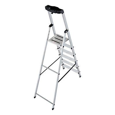 Stufen-Stehleiter - mit Sicherheitsplattform und Anti-Rutsch-Streifen