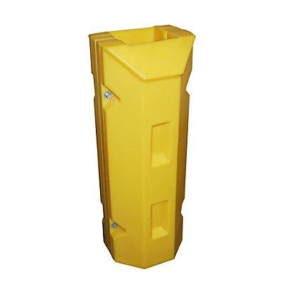 Romold Säulen- und Pfostenschutz - aus Polyethylen, gelb