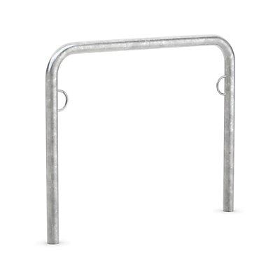 WSM TRUST Fahrradparker - Anlehnbügel verzinkt, mit Ringöse zum Einbetonieren