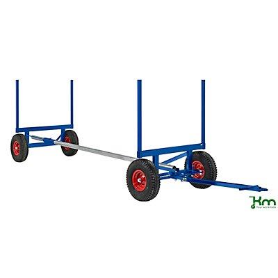 Kongamek Profi-Langgutwagen, Tragfähigkeit 3,5 t, Länge 6 m blau