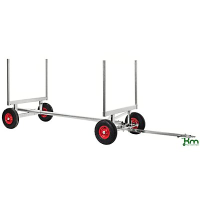 Kongamek Profi-Langgutwagen, Tragfähigkeit 2,5 t galvanisch verzinkt