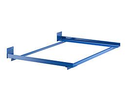 Tiefenwinkel-Rahmen - mit Endanschlag - für Regaltiefe 900 mm