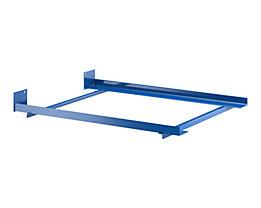 SLP Tiefenwinkel-Rahmen - mit Endanschlag - für Regaltiefe 1100 mm