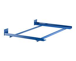 Tiefenwinkel-Rahmen - mit Endanschlag - für Regaltiefe 750 mm