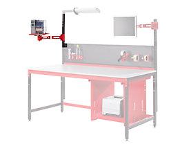 LEGRO Schwenkhalterung - HxLxB 150 x 320 x 550 mm - für Labelprinter