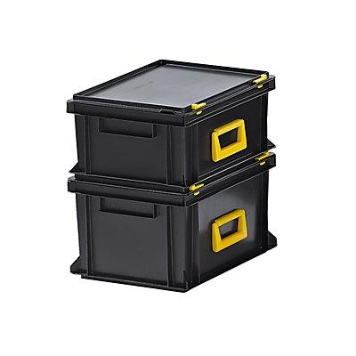 Mehrzweckkoffer, Polypropylen - LxBxH 400 x 300 x 183 mm, VE 2 Stk