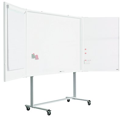 Smit Visual Fahrgestell für Präsentationsschrank - HxB 1950 x 680 mm - weiß