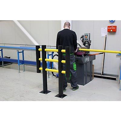 Maschinenschutzgitter, aus flexiblem Spezialkunststoff