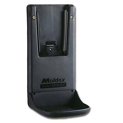 Wandhalterung für Gehörschutzstation MOLDEX, für MOLDEX Stationen Kunststoff, schwarz