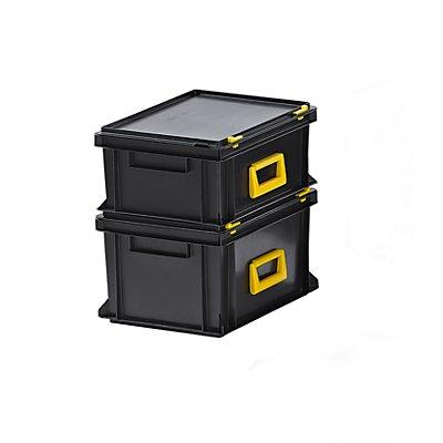 Mehrzweckkoffer, Polypropylen - LxBxH 400 x 300 x 233 mm, VE 2 Stk