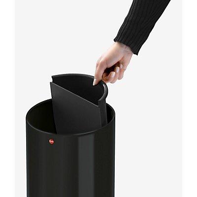 Hailo Papierkorb PROFILINE BASKET BIO, Volumen 15 l, HxØ 340 x 255 mm mit Biomüllfach