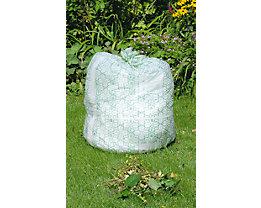 Sacs pour déchets biodégradables - en amidon de maïs, lot de 90 - capacité 120 l, h x l x p 480 x 470 x 1300 mm