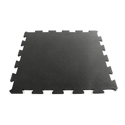 Revêtement de sol, caoutchouc - unité - L x l 610 x 610 mm