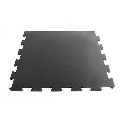 Revêtement de sol, caoutchouc - bord - L x l 610 x 610 mm
