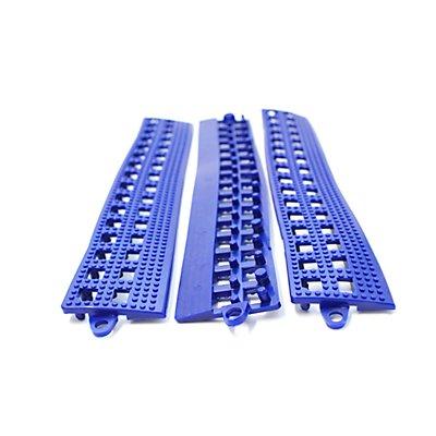 COBA Randleiste für Flexi-Deck - mit Verbindungsleiste, VE 6 Stk