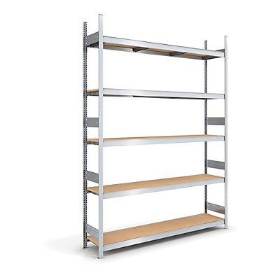 hofe Großfach-Steckregal mit Spanplatten - Höhe 3000 mm, Breite 2000 mm, Feldlast 2000 kg