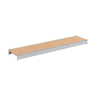 Zusatzfachebene - mit Traversen und Spanplatte - BxT 2500 (2 x 1250 mm) x 800 mm