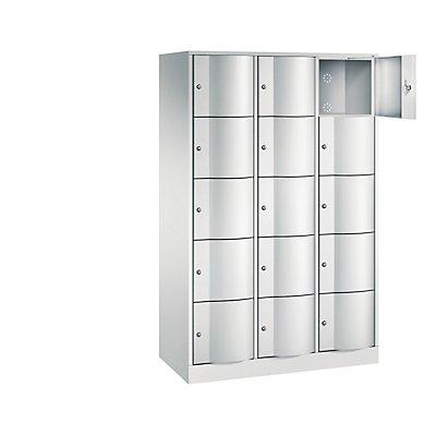 CP Schließfachschrank - HxBxT 1950 x 1150 x 540, 15 Fächer